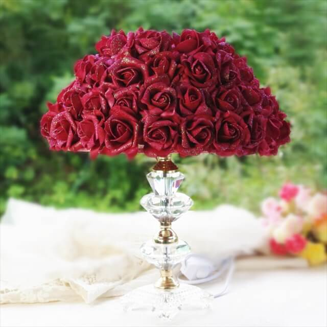 Romantic Wedding Gifts Rose Lampshade
