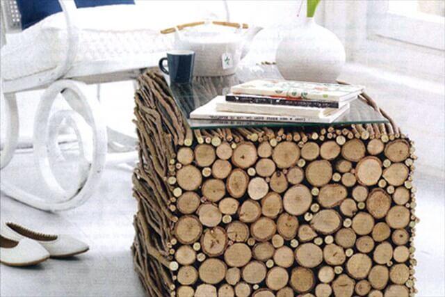 wooden diy table