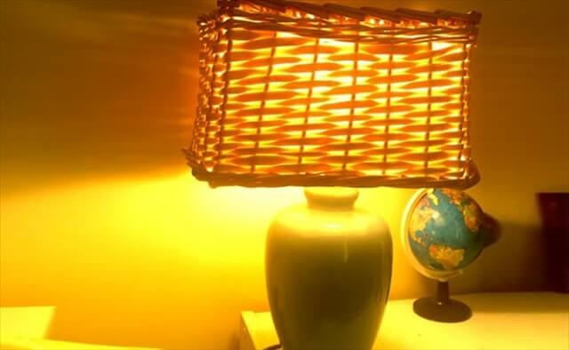 Basket Lampshade