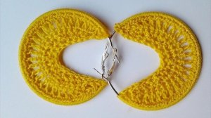Bead Crochet Hoop Earrings