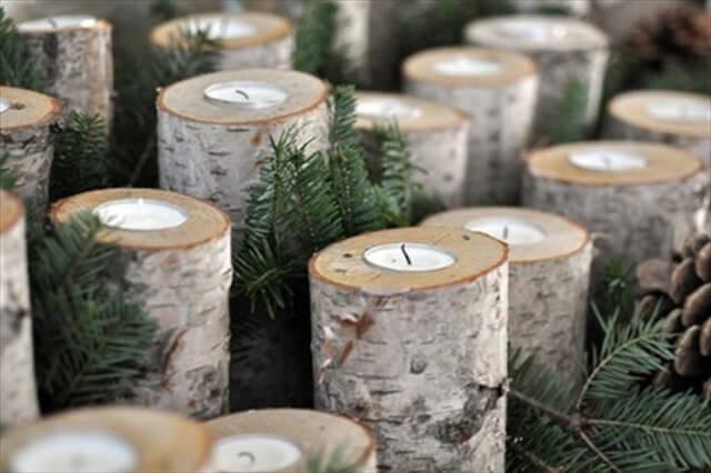 Candleholders.