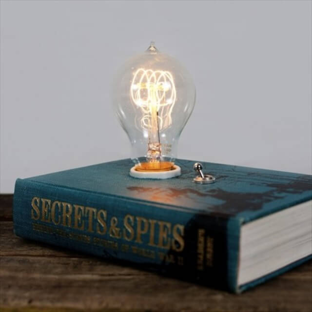 Hardcover Reading Lamp.