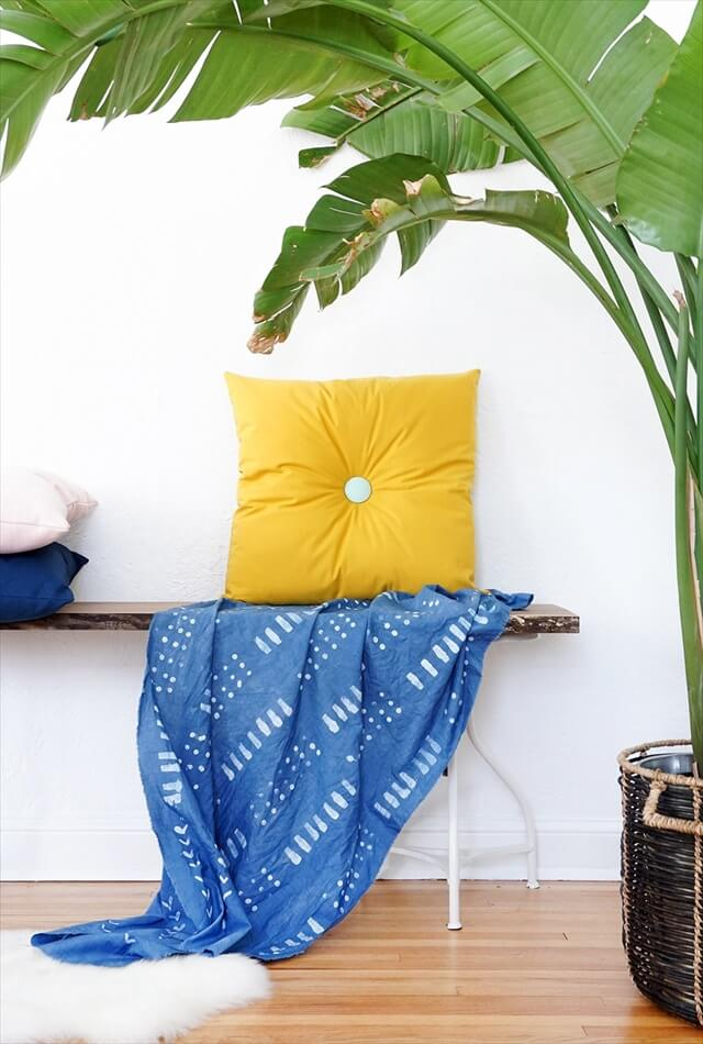 Colorful Tufted Pillows
