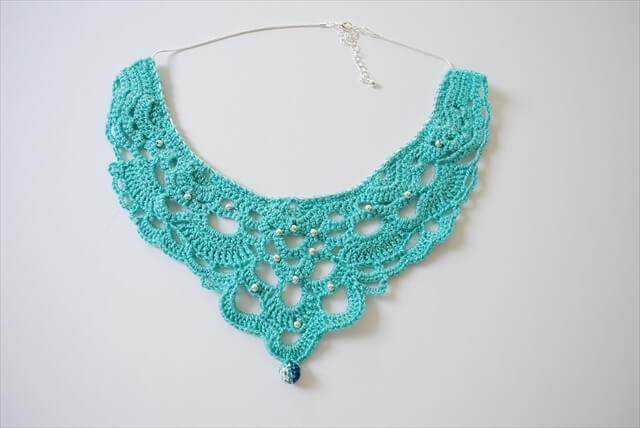Crochet a Chandelier Necklace
