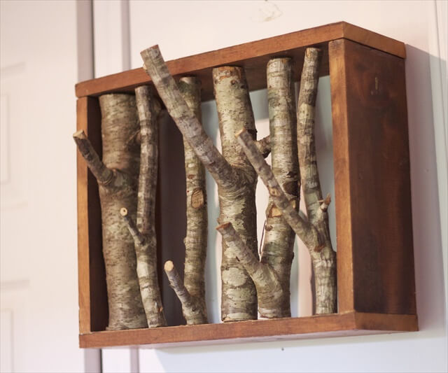 Simple Branching Coat Rack