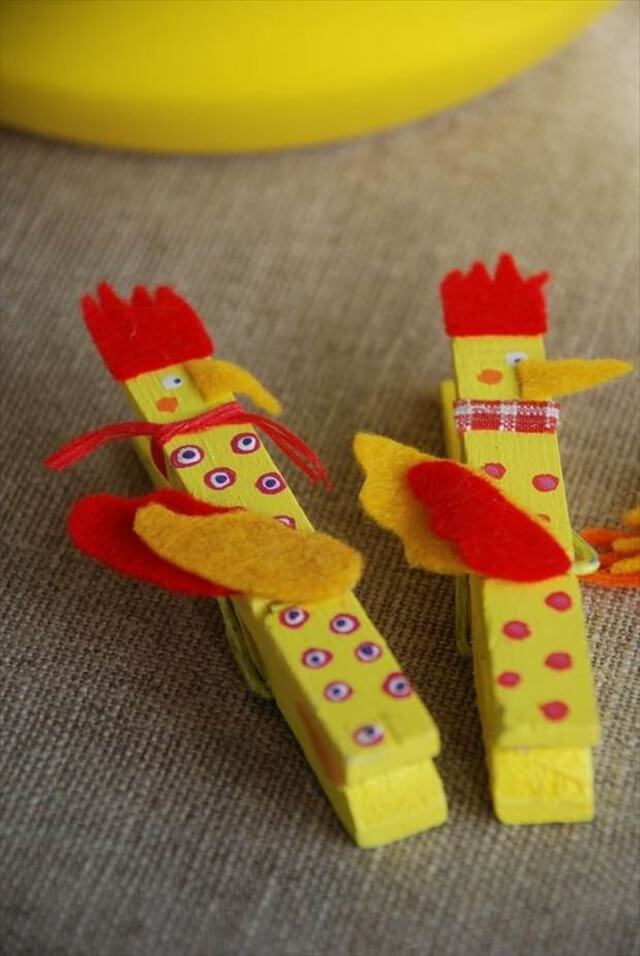Fun and Easy DIY Clothespin Crafts for Kids!