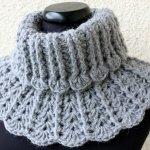 Chunky Crochet Scarf