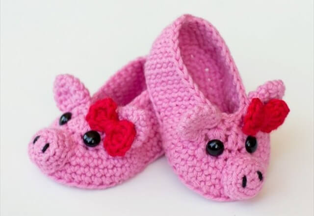 555f288fd 25 Easy Crochet Newborn Baby Booties