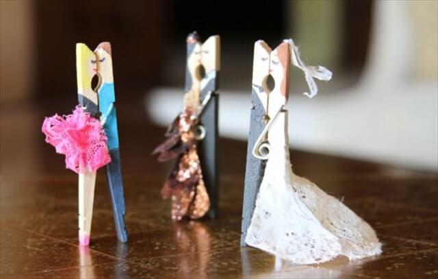 Reusing Clothespins