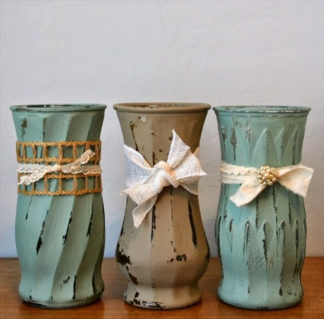 Weathered Vases