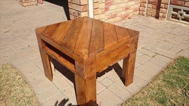 diy recycled table