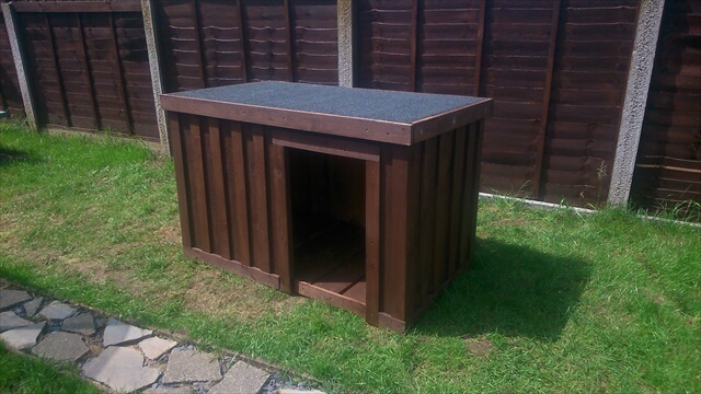 Dog Kennel Out Of Pallets