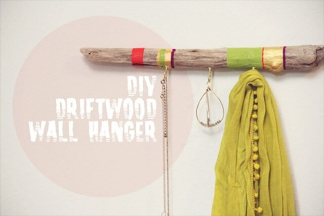 DIY Wall Hook and Coat Rack Projects