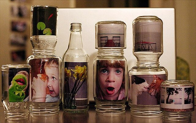 amazing glass jar frame