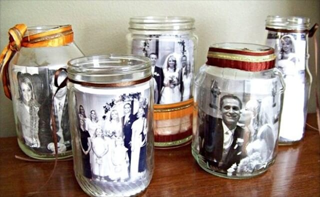 10 DIY Glass Jar Photo Frames amp Gift Ideas To Make