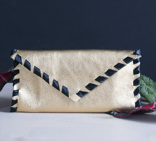 No-Sew Envelope Clutch