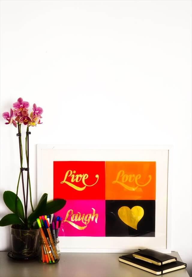 Live, Love, Laugh Print