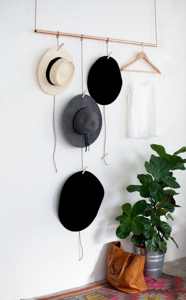 Hat organizing ideas