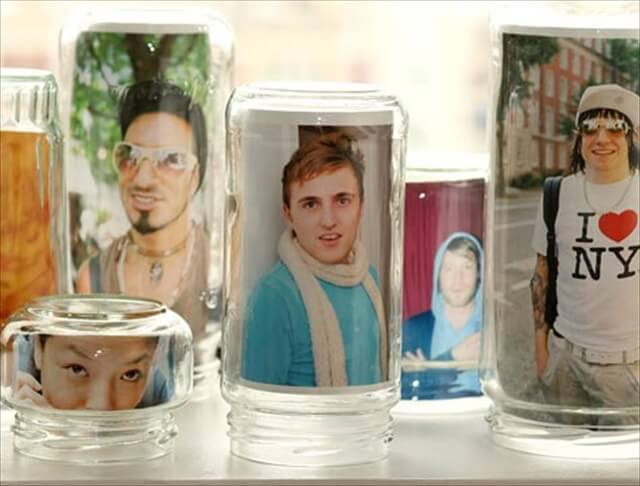nice jars photoframe