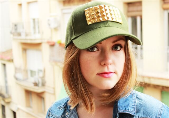 Gold Studded Hat