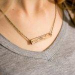 Elegant Hardwood Necklace