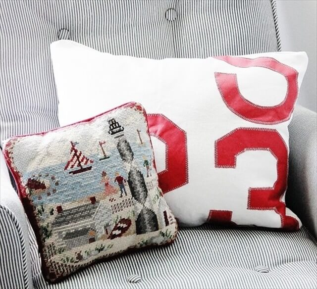 Numbered Pillows