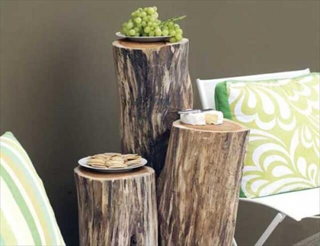 Ingenious Projects That Turn Wood Logs Into Outdoor Furniture