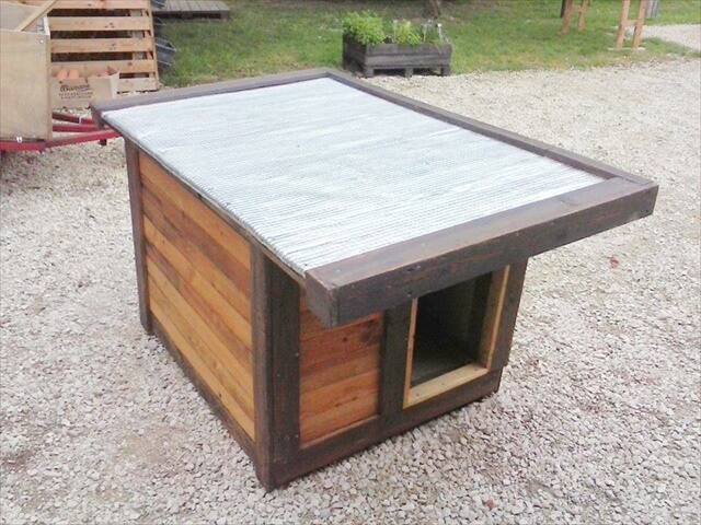 Pallet Dog House Plans Getzclubinfo