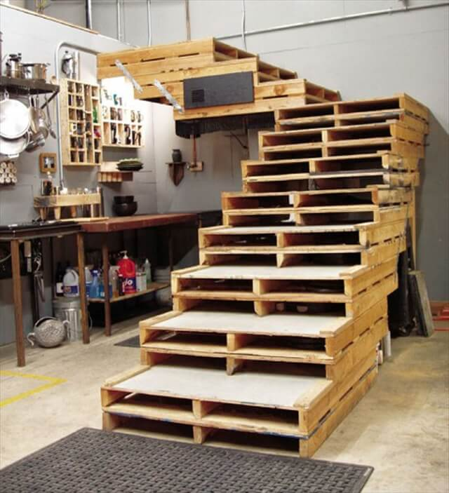 great pallet stairs