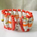 Recycled Paper bracelet