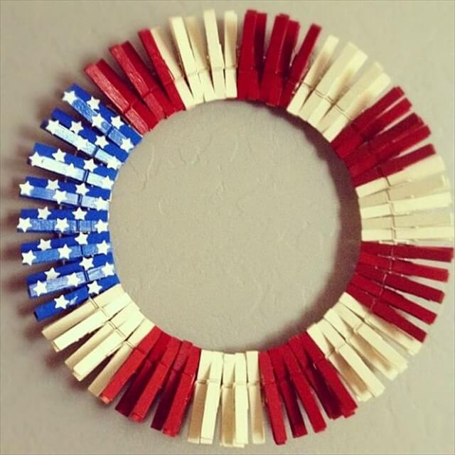Cute DIY Patriotic Decorating Ideas