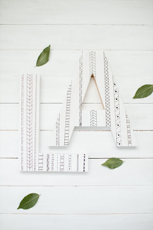 Sharpie Letters