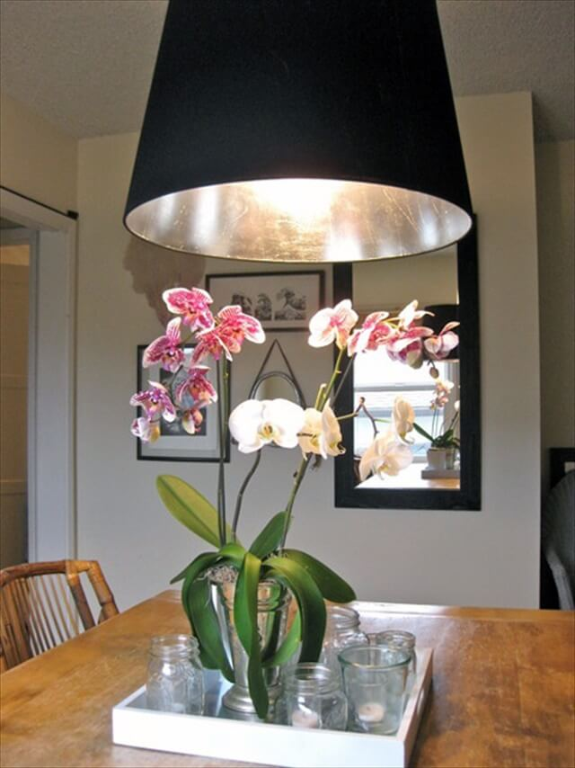 black lampshade design