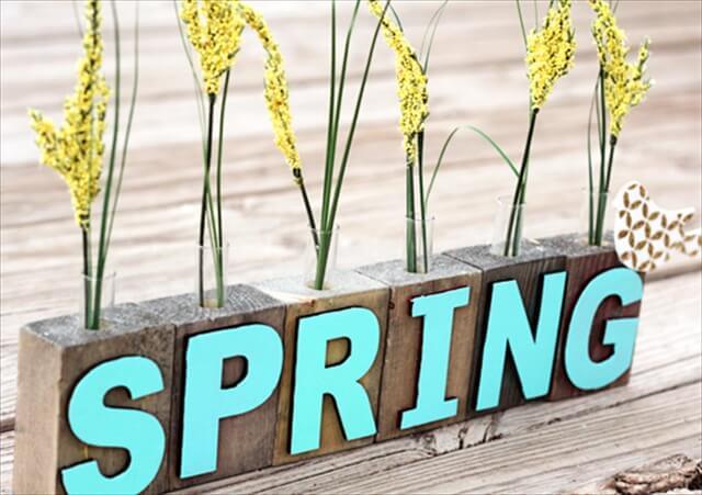 Spring Bud Vases