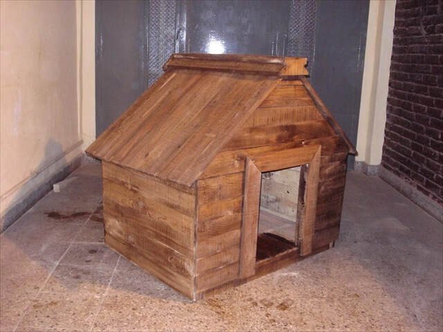 great pallet dog house