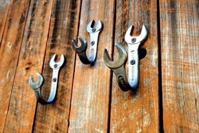 Wrench Wall Hooks