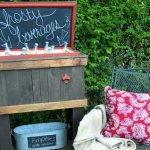 DIY Wood Deck Cooler