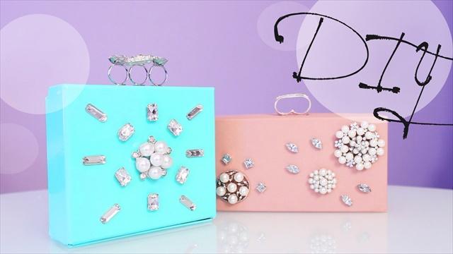 DIY Jewelry Clutch Box - Great Gift Idea