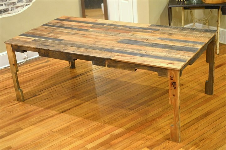 Pallet Dining Table Made From pallets