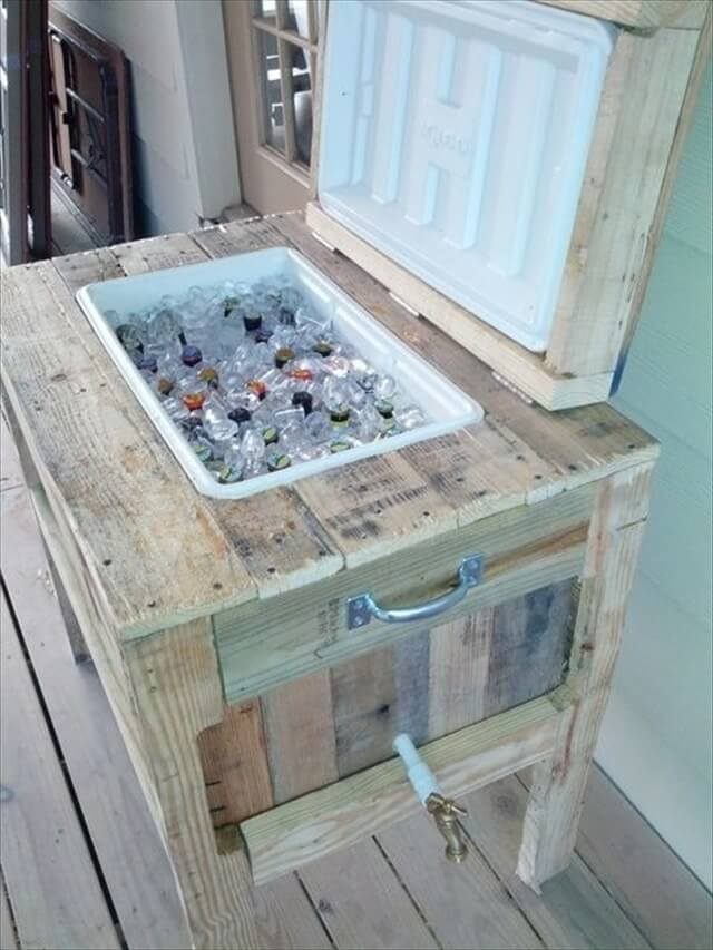 9 Diy Pallet Cooler Ideas Diy To Make