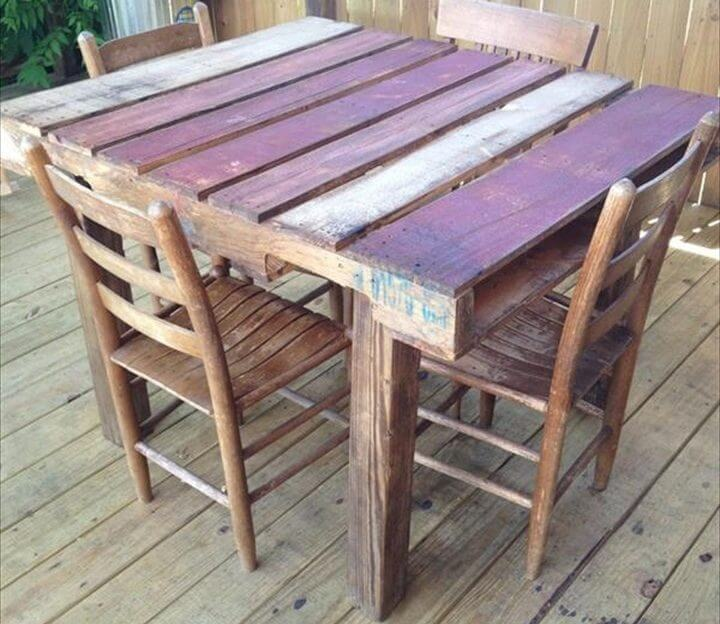 Pallet Kitchen Chairs: 25 Wonderful DIY Ideas To Do With Old CDs