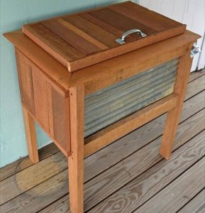 9 DIY Pallet Cooler Ideas