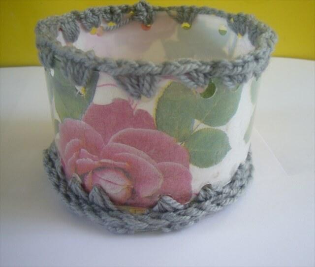 plastic bottle crafts: basket