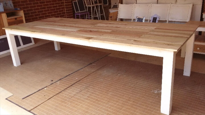 Dining Table from Old pallets