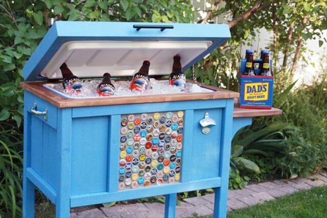12 DIY Pallet Cooler Design | DIY to Make