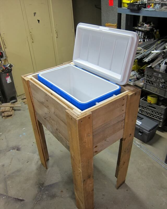 10 DIY Wood Pallet Cooler Design | DIY to Make