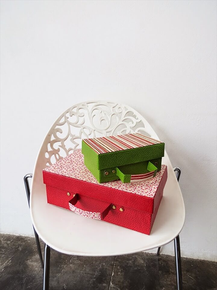 Shoebox suitcase