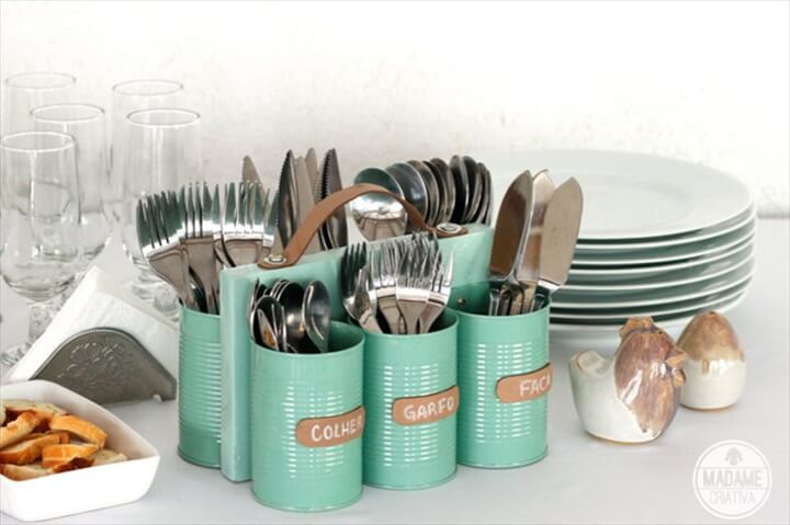 DIY Tin Can Ideas