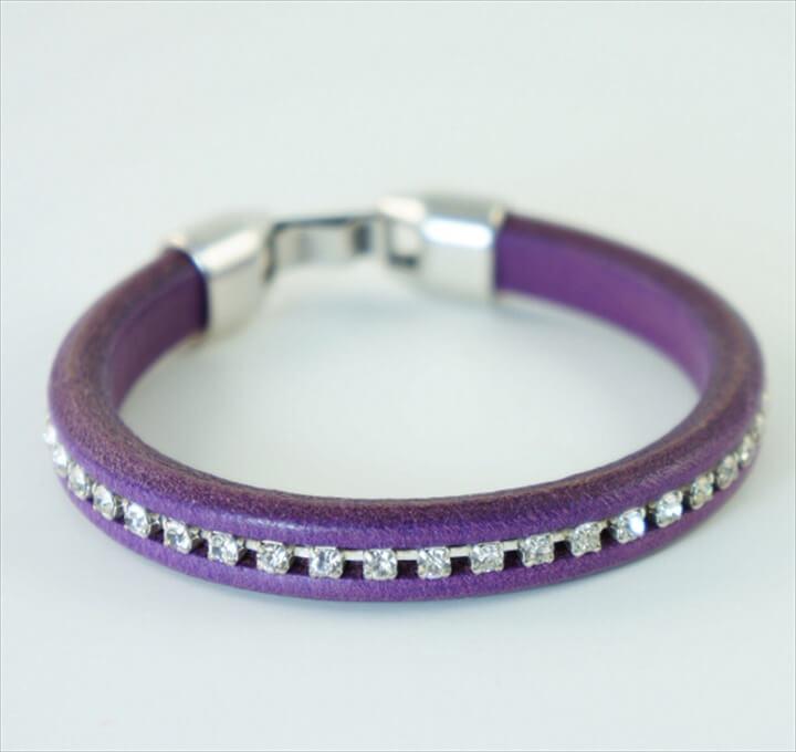 DIY Regaliz Leather Bracelet Tutorial