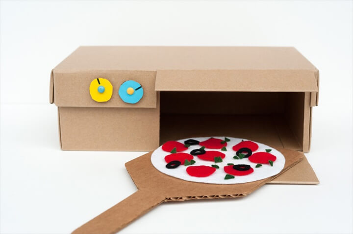 Cardboard Box Pizza Oven